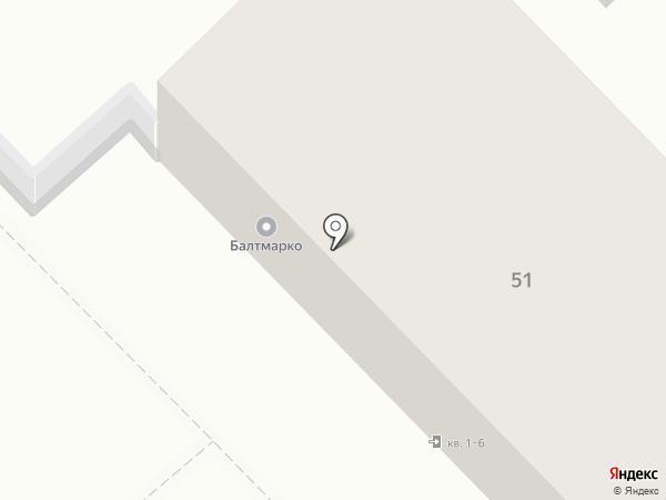 Федерация Легкой Атлетики Калининградской Области на карте Калининграда