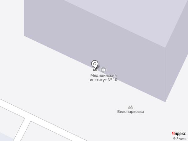 RuBaltic на карте Калининграда