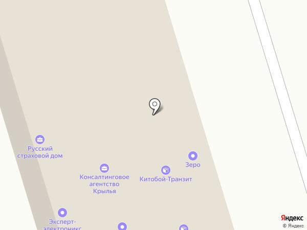 Камнерез на карте Калининграда