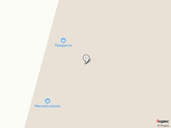 Княжеская Лавка на карте Кутузово