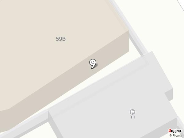Алира на карте Калининграда