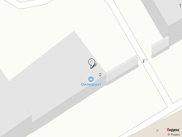 Ойлмаркет на карте Калининграда