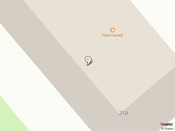 Маркер на карте Калининграда
