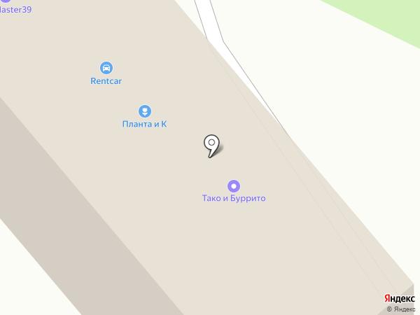Простохлеб на карте Калининграда