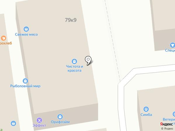 Молодецкие на карте Калининграда