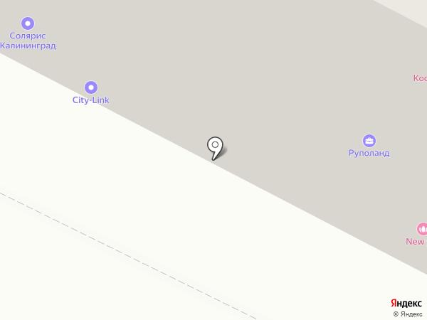 Кёниг-песок на карте Калининграда