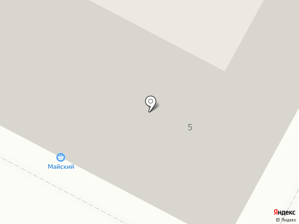 Маячок на карте Калининграда