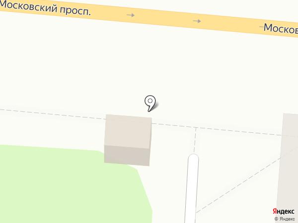 Киоск по продаже яиц на карте Калининграда