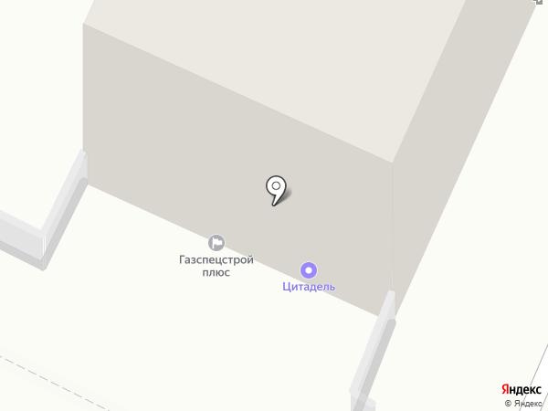 ГазСпецСтрой на карте Калининграда