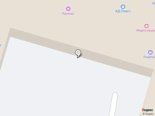 Милан на карте Калининграда