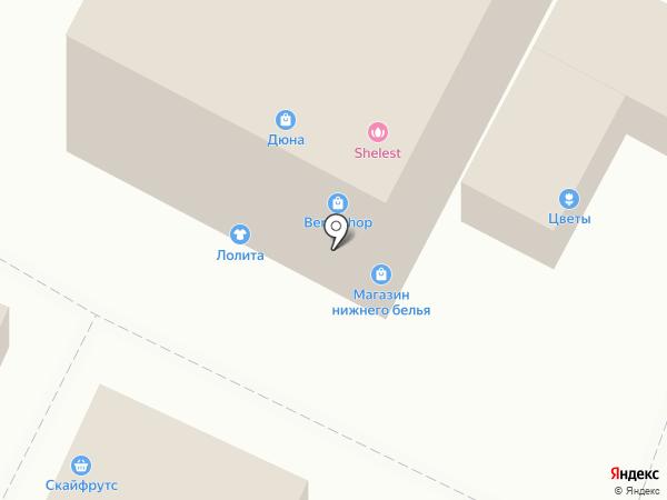 Дюна на карте Калининграда