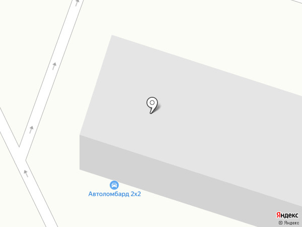 Ломбард 2х2 на карте Калининграда
