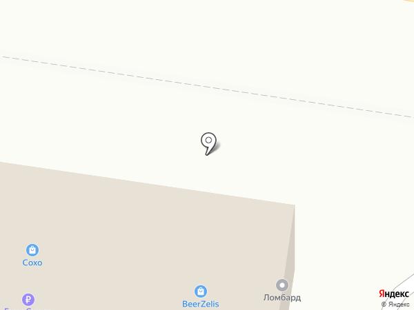 СПАРТА на карте Калининграда