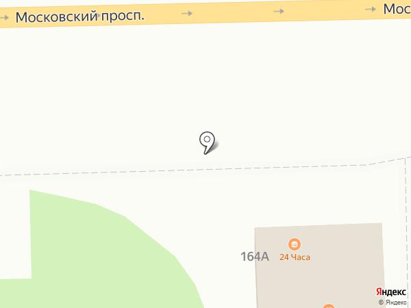 Киоск по ремонту обуви на карте Калининграда