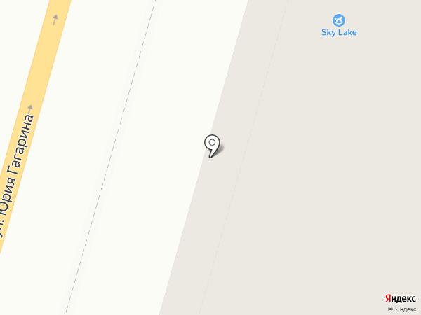 Диана на карте Калининграда