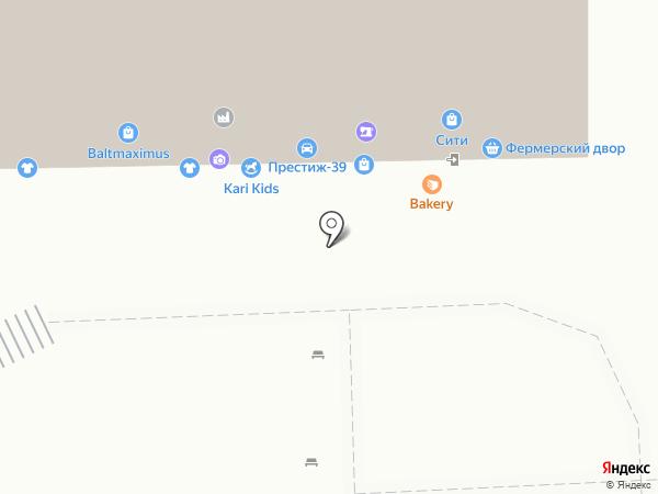 Салон серебряных ювелирных украшений на карте Калининграда