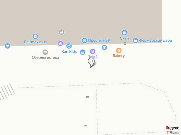 Стиль плюс на карте Калининграда