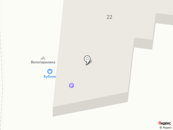 Бублик на карте Калининграда