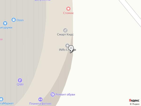 Мармелад на карте Калининграда