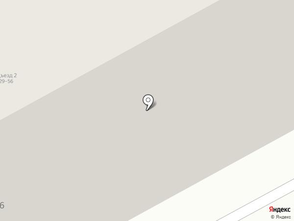 Гидромонтаж на карте Калининграда
