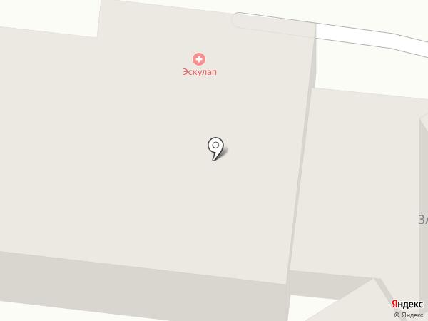 Медицинский Центр Эскулап на карте Калининграда
