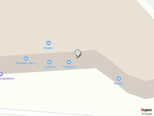 Рекорд-Авто на карте Калининграда
