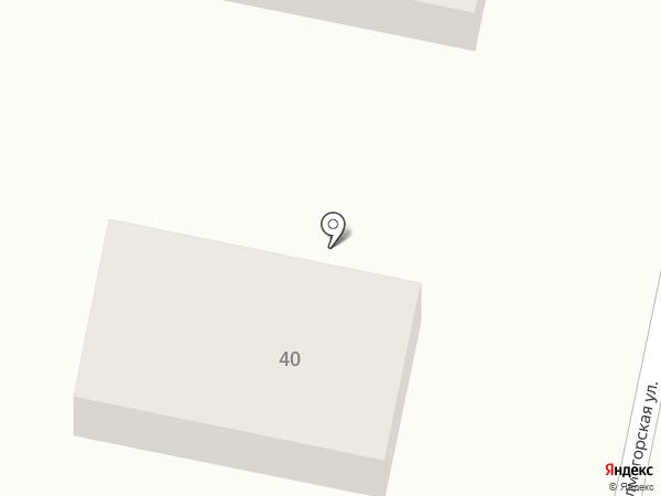 Шиномонтаж на Баженова на карте Калининграда