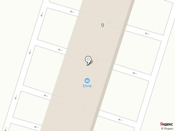 Ehrle на карте Калининграда