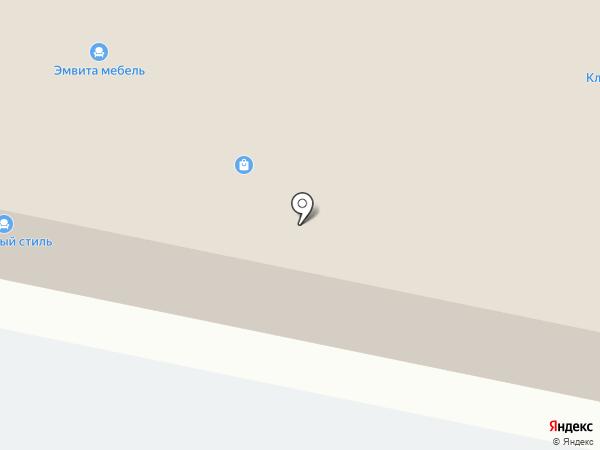 Прима Мебель на карте Калининграда