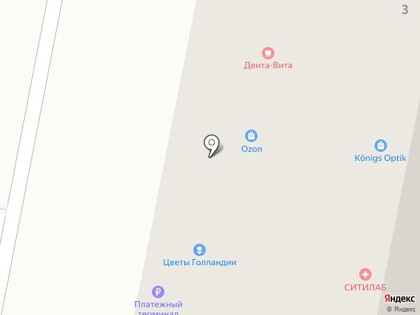 ДЕНТА-ВИТА на карте Калининграда