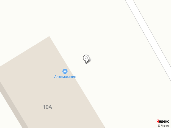 Шиномонтажная мастерская на карте Васильково