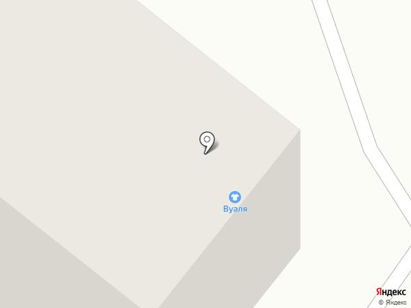 Континел-Транс на карте Малого Исаково