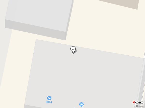 Балтавтоторг на карте Калининграда