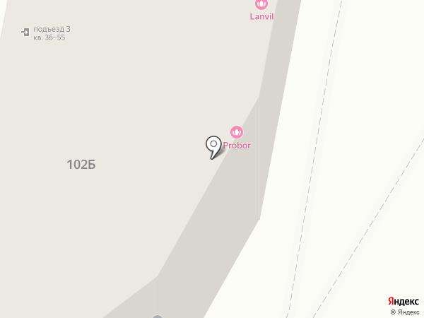 Нида на карте Калининграда