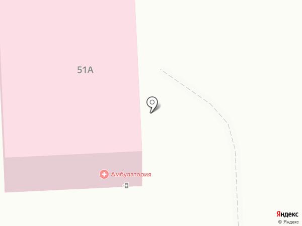Васильковская врачебная амбулатория на карте Васильково