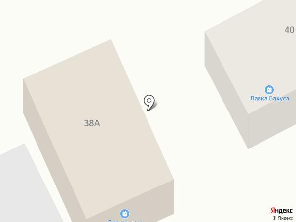 Продовольственный магазин на карте Южного