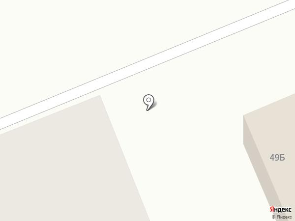 Южанка на карте Южного