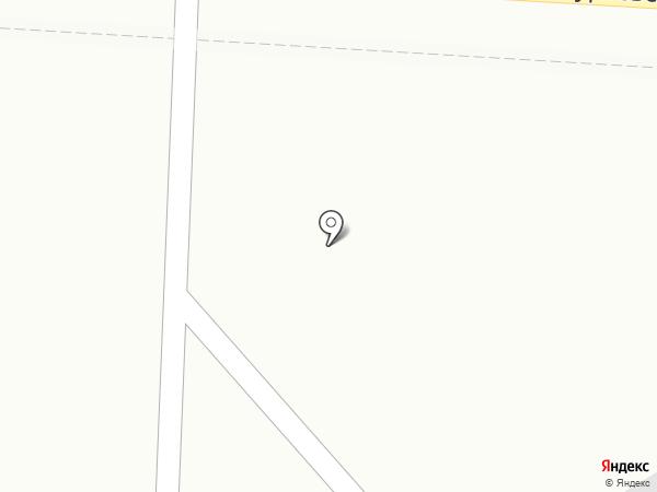 Стройлескомплект на карте Малого Исаково