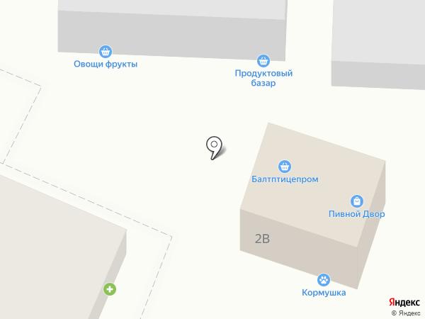Zabava Shop на карте Гурьевска