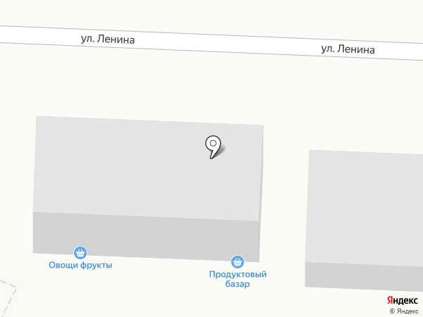 Магазин продуктов на карте Гурьевска