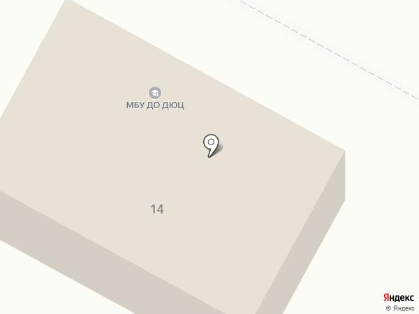 Детско-юношеский центр на карте Гурьевска