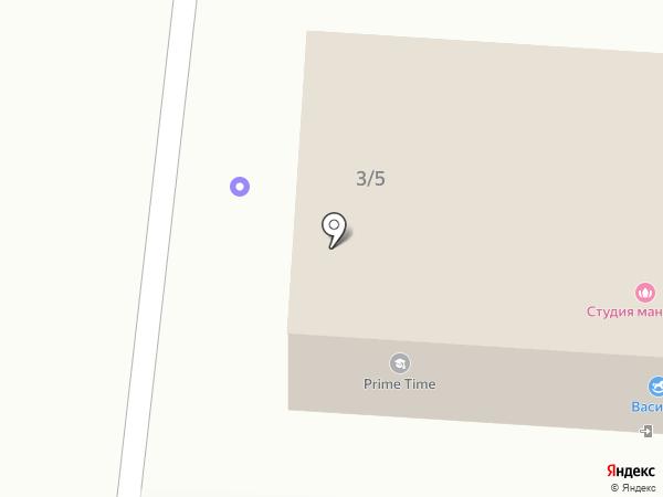 Исаковское потребобщество на карте Большого Исаково