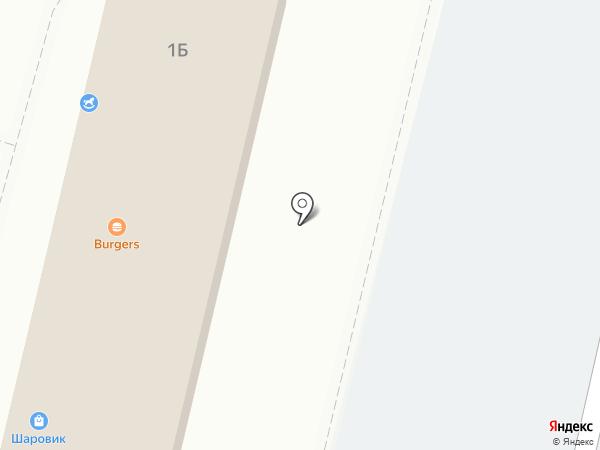 Магазин разливного пива на карте Гурьевска