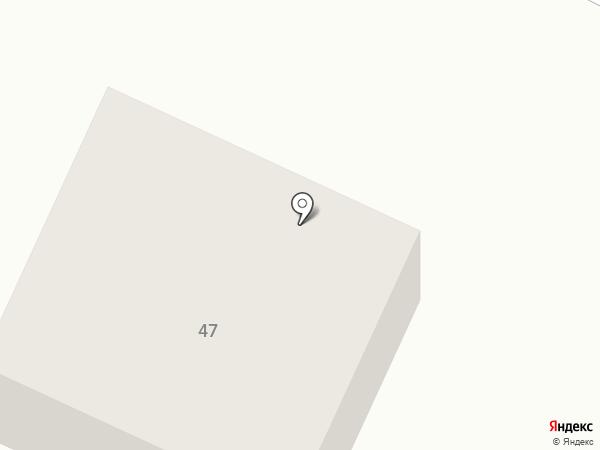 Найдёнок на карте Большого Исаково