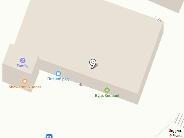 Лагуна на карте Большого Исаково