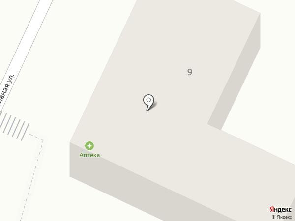 Аптека на карте Большого Исаково