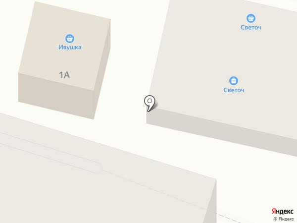 Группа А.В.Е. на карте Гурьевска