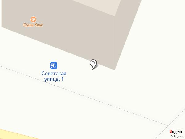Магазин цветов на карте Гурьевска