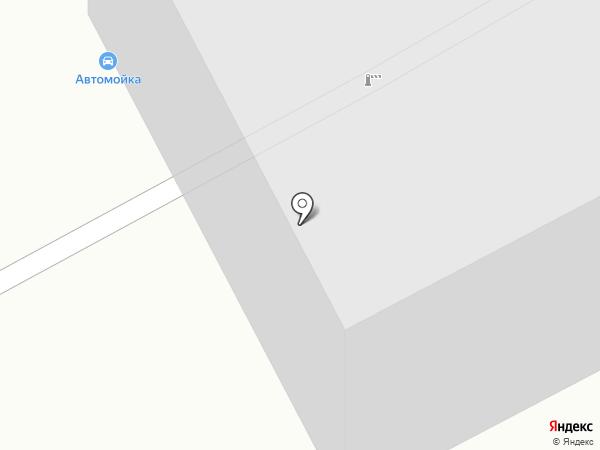 Автомойка для грузовых и легковых автомобилей на карте Гурьевска
