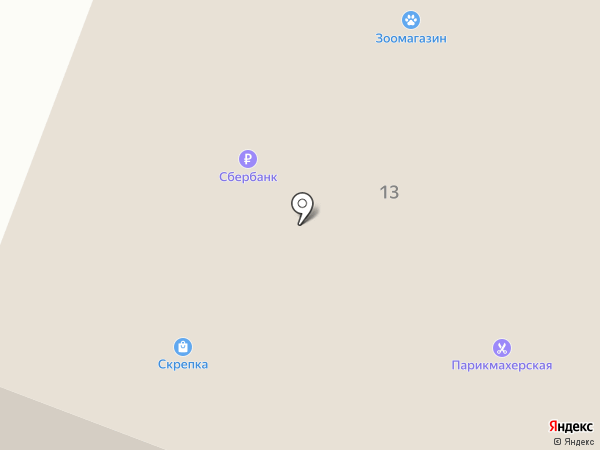 Магнит на карте Писковичей